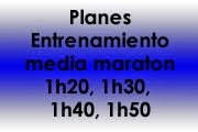 Planes entrenamiento