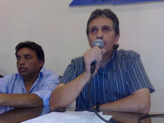 """""""Ni piso ni techo en las Paritarias""""                          * Salvador Agliano"""