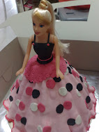 Barbie with fondant