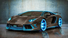 Lamborghini-Tron-Black-HD-Wallpaper