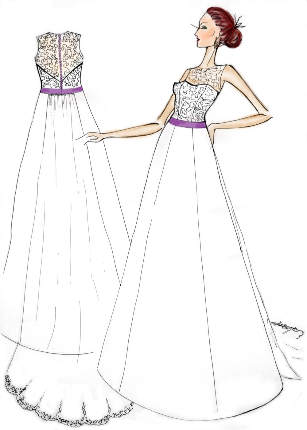 Платья свадебные карандаш