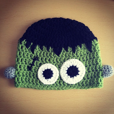 Ma Bicyclette: Buy Handmade | A Folksy Halloween - Monster Crocheted Hat