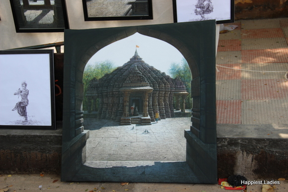 temple oil painting