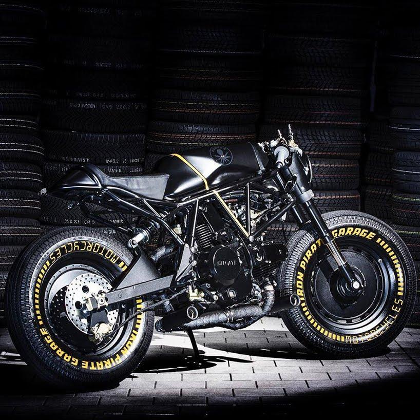 M e m o ducati 750ss kraken motorcycle by iron pirate garage for Garage custom moto
