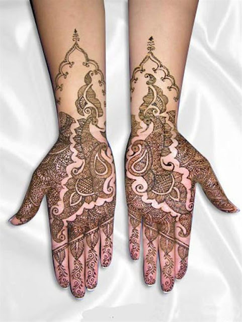 Bridal hand mehndi designs 2012