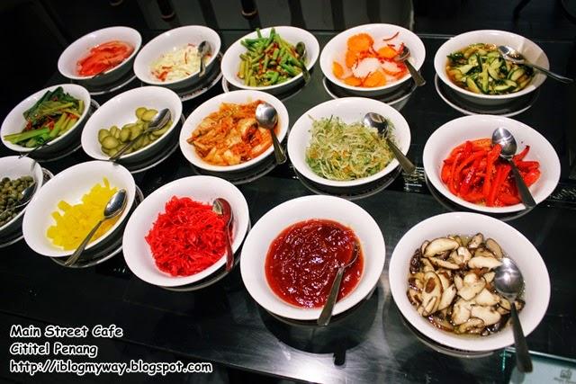 Theme Buffet Dinner, Main Street Cafe, Cititel Penang