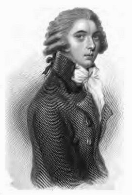 William Pitt the Younger from Posthumous Memoirs of his own time by N Wraxall (1836)