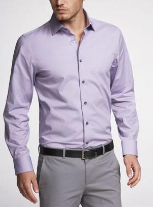 Every Man 39 S Closet The Lavender Dress Shirt
