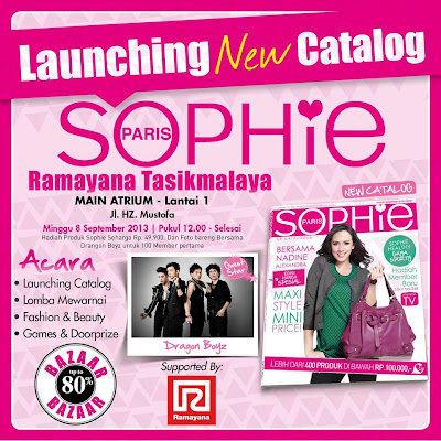 sophie launching Sophie Paris Launching New Catalog dan Bazaar di Tasikmalaya