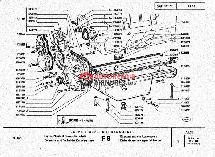 auto repair manuals  allis chalmers crawler loader fl10c
