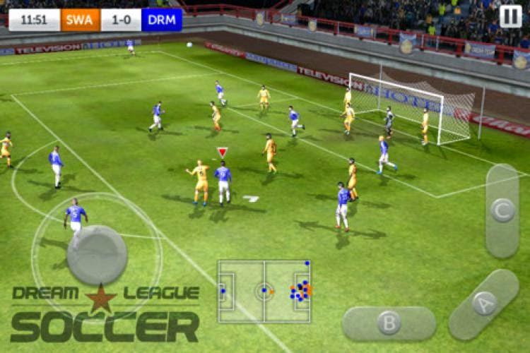 Dream League Soccer لعبة دوري الاحلام كرة قدم 2014