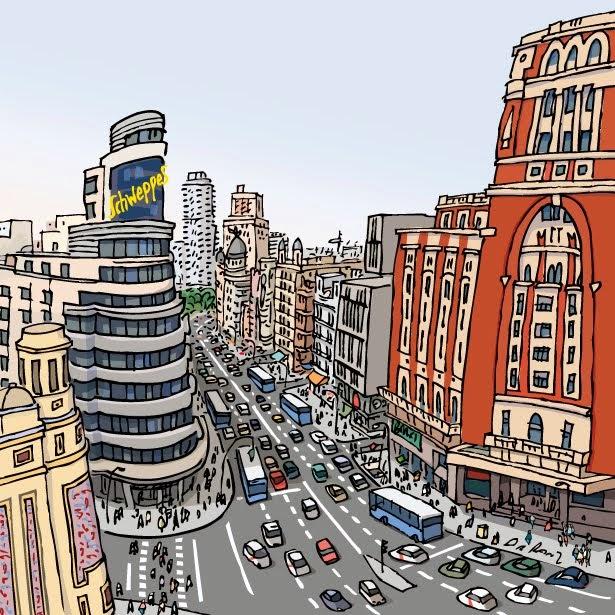Ciudades dibujadas