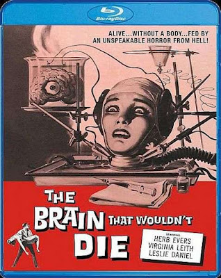 The Brain That Wouldn't Die Blu-ray cover