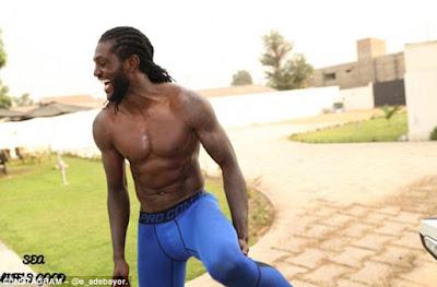 Emmanuel Adebayor Maintains High Level Of Fitness Despite Not Having A Club. Photos