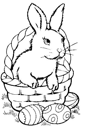 Dibujos de Pascua para Colorear, parte 5