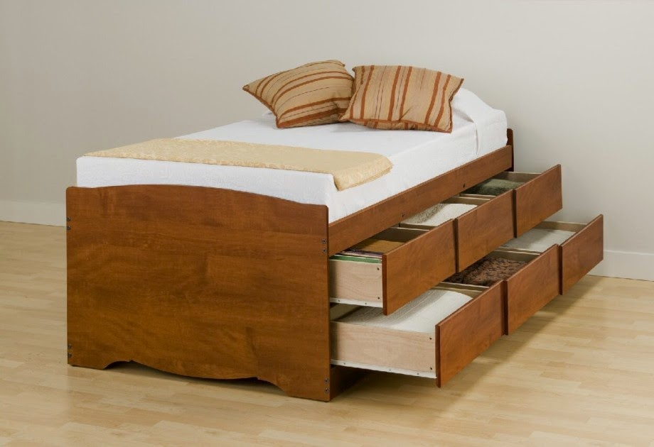 Platform Beds Idea With Storage