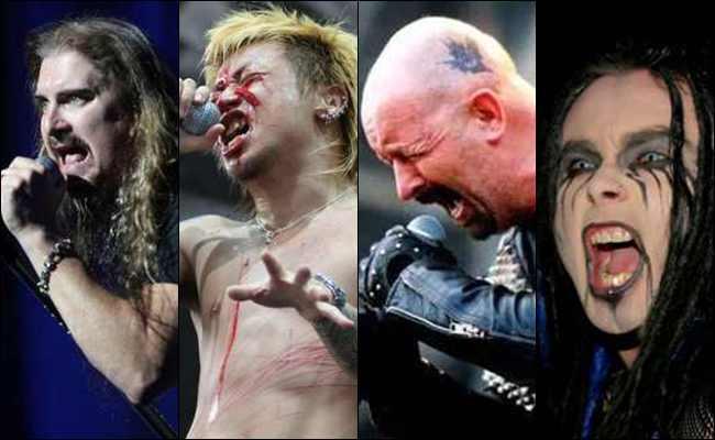 10 Vokalis Grup Band Metal dengan Nada Suara Tertinggi di Dunia