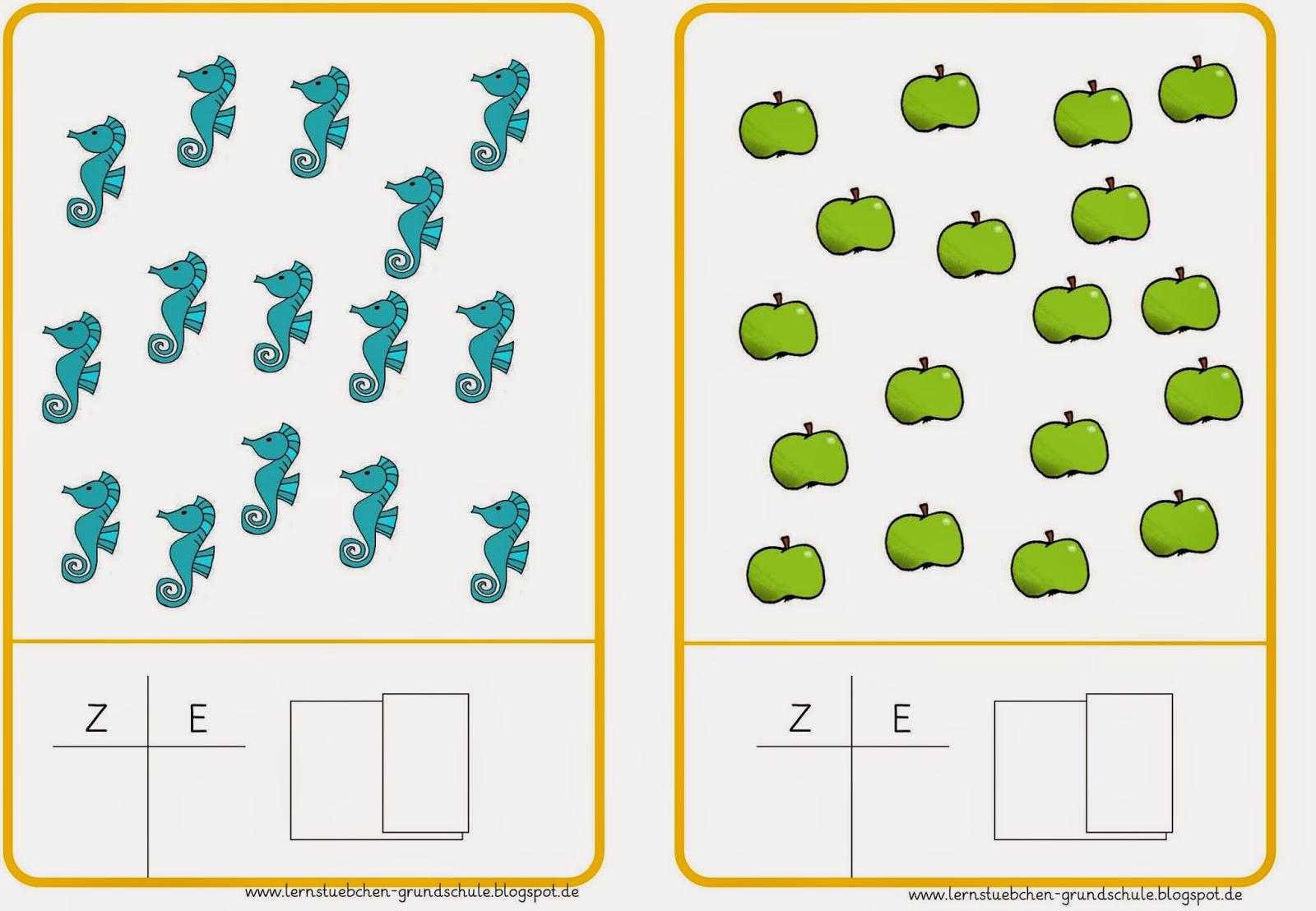 Erste klasse mathe ubungen