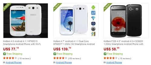 comprar móviles chinos