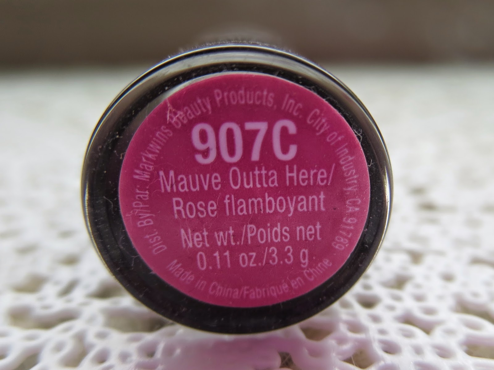a picture of Wet n Wild Mega Last Lip Color in Mauve Outta Here