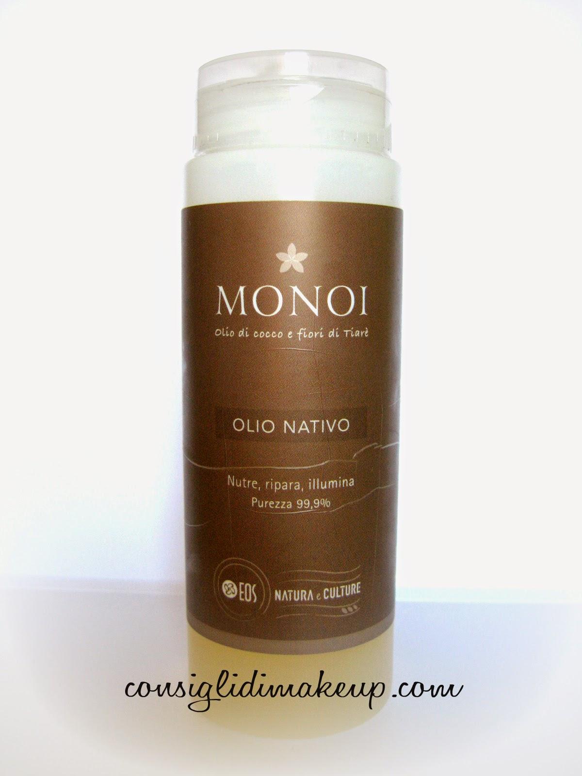 Review: Olio Nativo al Monoi - EOS Natura