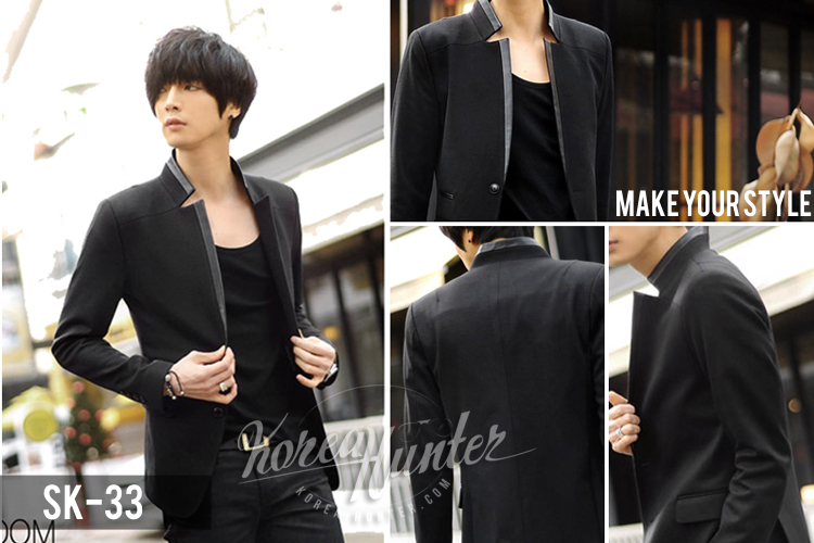 KOREA-HUNTER.com jual murah Blazer Korean Style | kaos crows zero tfoa | kemeja national geographic | tas denim korean style blazer