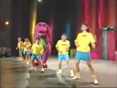 anyway barney and his friends sing a rap song introducing themselves