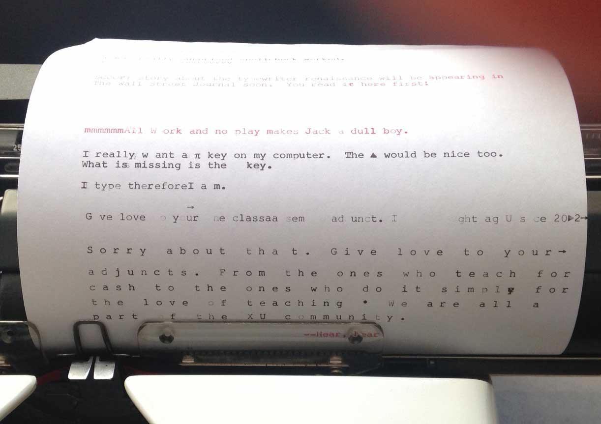 typewriter paper stand