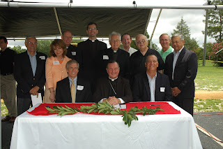 Church of the Holy Spirit and Montgomery Catholic Break Ground on New Educational Complex 1