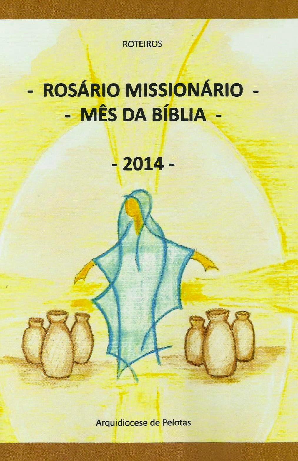 Rosário Missionário e Mês da Bíblia