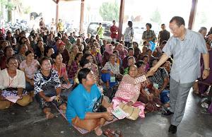 Bakti Sosial dengan GBKP Klasis Kampung Lalang