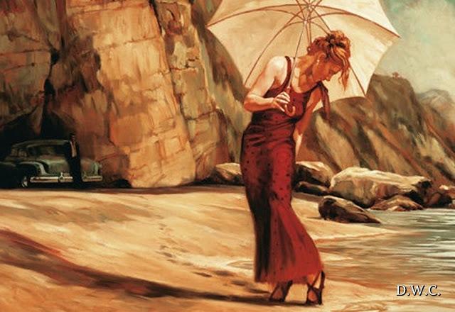 D.W.C. Umbrella - Artist Mark Spain