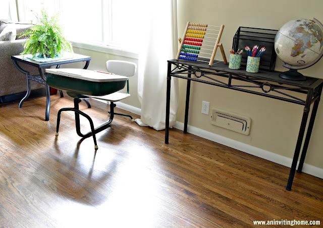 a desk for homework