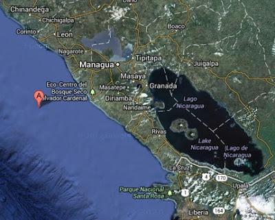 TERREMOTO DE 6,6 GRADOS EN COSTA DE NICARAGUA GOLPEA TAMBIEN HONDURAS, EL SALVADOR Y COSTA RICA