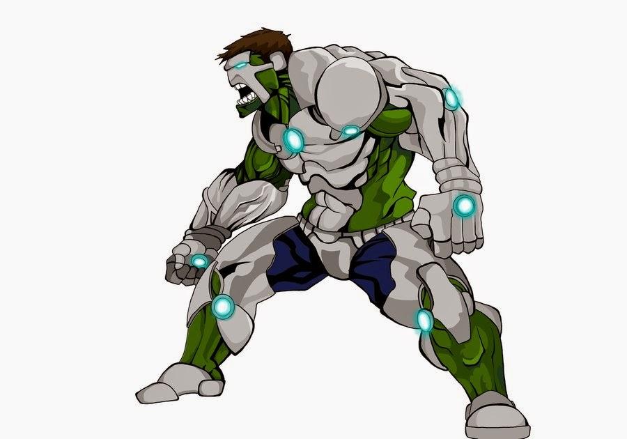 Iron Hulk  Dago Kazacar Iron Hulk