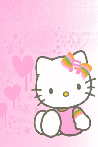 Cute Pink Hello Kitty Wallpaper For Iphone