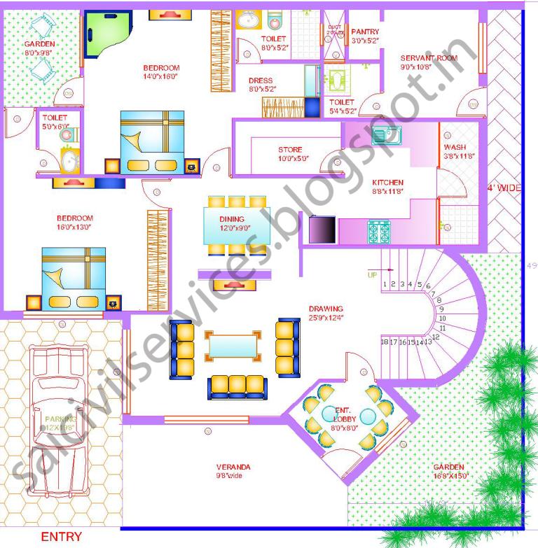 Best house plans 2015 house design plans for 50 x 50 floor plans
