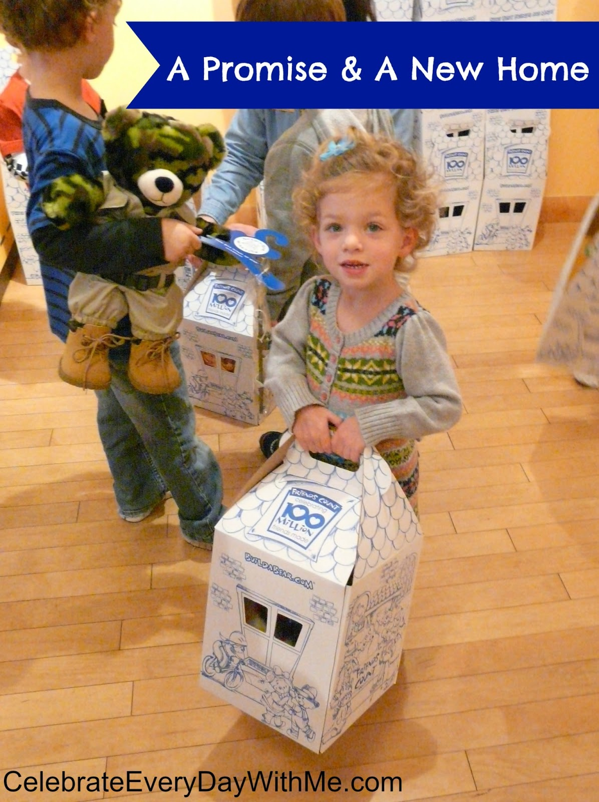 They were given birth certificates and the well-recognized Build-A-Bear Workshop box.  sc 1 st  Celebrate Every Day With Me & Childrenu0027s Day Party at Build-A-Bear Workshop | Celebrate Every ... Aboutintivar.Com