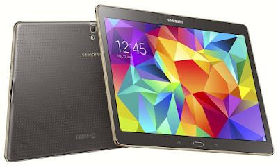 Spesifikasi dan Harga Samsung Galaxy Tab S 10.5 Inch SM-T805