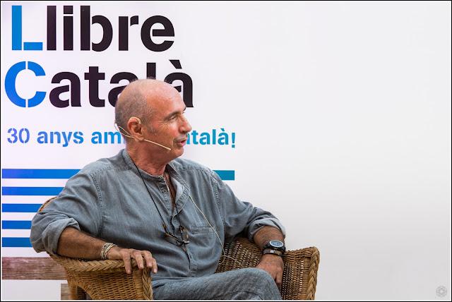 """Barcelona: Lluís Llach, presentació Memòria d'uns ulls pintats"""" - Setmana del Llibre en Català"""