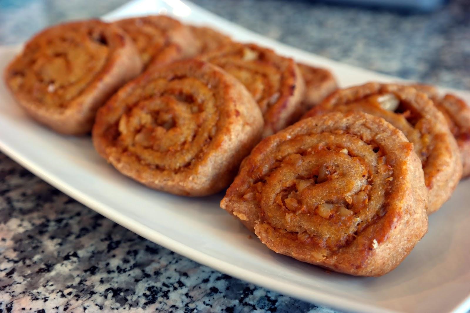 Balkabaklı Tarçınlı Muffin