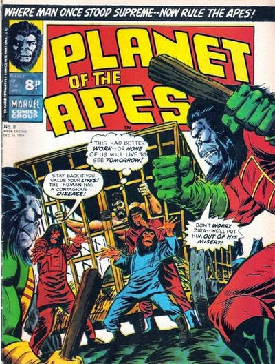 Marvel UK, Planet of the Apes #8