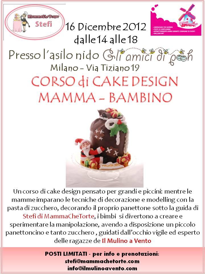 Cake Design Bambini Milano : MammaCheTorte: Corsi