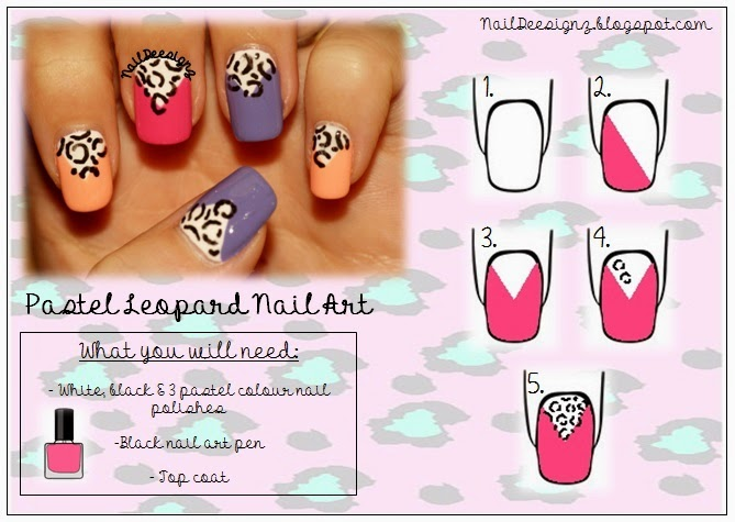 http://naildeesignz.blogspot.co.uk/2013/09/pastel-leopard-nail-art.html