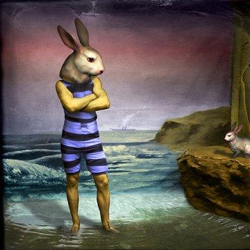Conejo y anthon esclavos