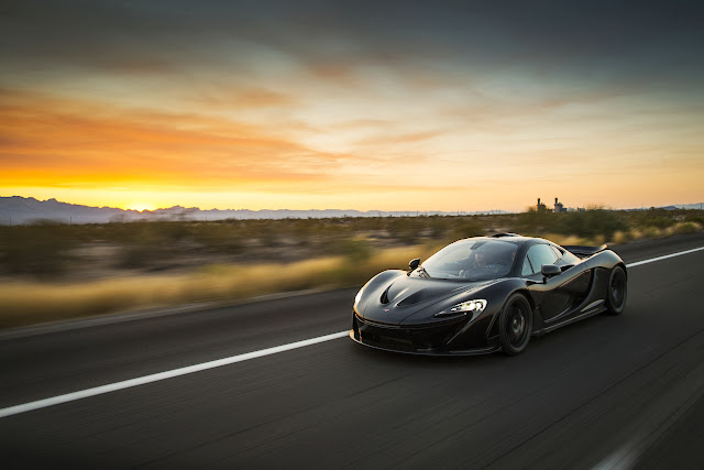 McLaren P1: [Video] High Temperature Testing Leads to Amazing Photos