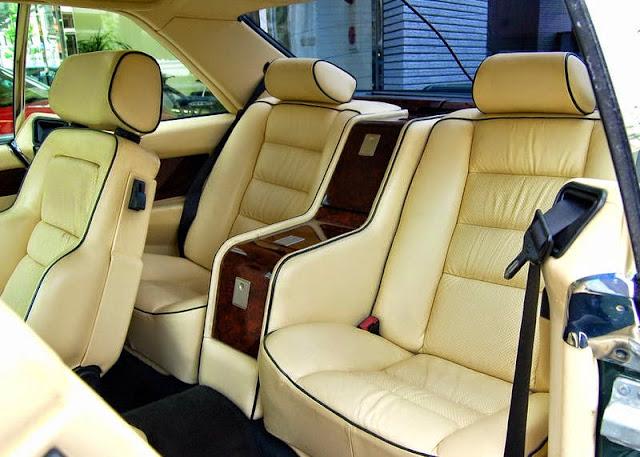 w126 sec interior