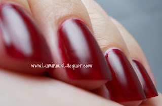 LuminousLacquer.com - Beautifully Disney Nail Polish - Wickedly Beautiful Villains Collection - Midnight Hour