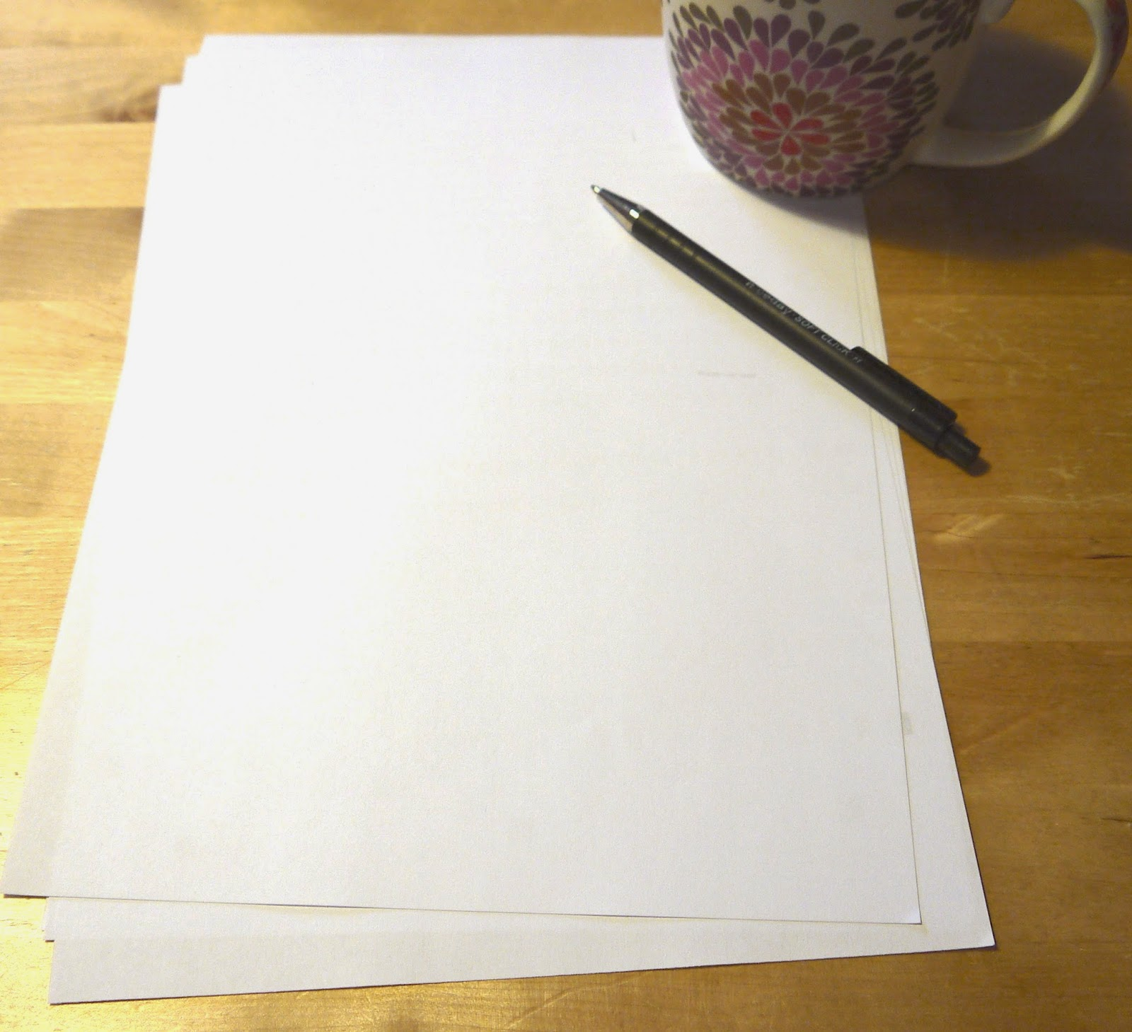 The blank page - Fabrice Calando