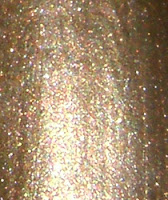 Maybelline New York Color Show Bold Gold Twilight Rays black glitter shimmer nails nail art polish